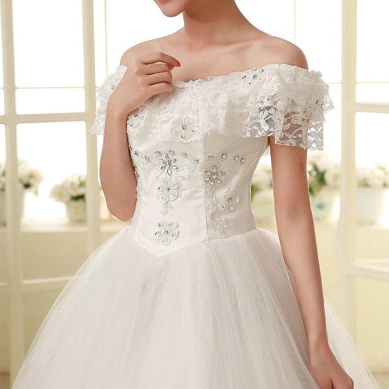 White/Ivory Mermaid Bridal Gown Wedding Dress Custom Size Hot New Style Fashion