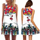 Summer Women's Lady Evening Cocktail Beach Mini Floral Party Short Dress 2016