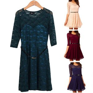 Women's Bandage Lace Evening Party Cocktail Short Mini Dresses New Style Pretty