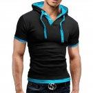 2015 New Fashion Men's Stylish Slim Fit Short Sleeve Polo Shirts T-shirt Popular