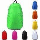Waterproof Dust Rain Cover Travel Bag Hiking Backpack Outdoor Rucksack Blue Bag