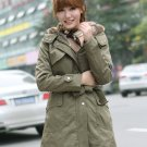 Womens Thicken Warm Winter Coat Hood Parka Overcoat Long Jacket Outwear 2016 US