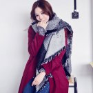 Women's Thick Warm 100% Wool Pashmina Cashmere Stole Scarves Scarf Shawl Wraps