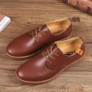 Men's European style oxfords leather Shoes Casual Shoes Light Larger Shoes US