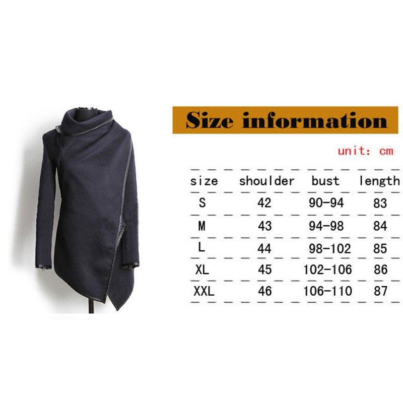 Hot Popular Women's Wool Slim Long Coat Jacket Trench Windbreaker Parka Outwear