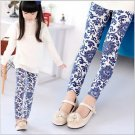 Design Kids Toddler Girls Leggings Pants Floral Printed Trousers Size 3-7Y Cute