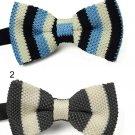 Adults Bowknot Men Knit Wedding Party Neckwear BowTie Tuxedo Bow Tie Pretty