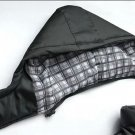 Men's Warm Jacket Hooded Winter Thick Coat Parka Plaid Lining Hoodies Overcoat