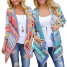 Boho Womens Long Sleeve Knitted Cardigan Loose Sweater Outwear Jacket Coat Tops