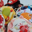 Kawaii Japanese Kimono Lucky Fortune Cats Maneki Neko Clip Coin Purse Lovely Hot