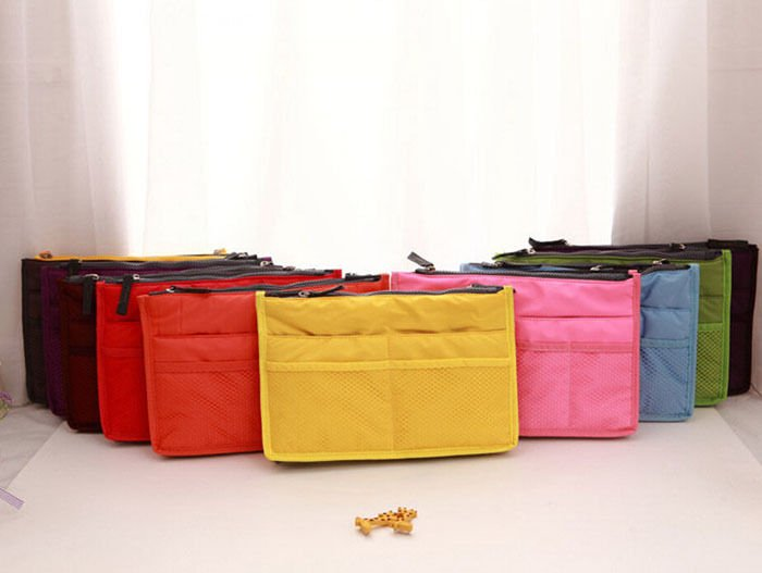 Lady Insert Handbag Organiser Purse Large liner Organizer Bag Travel Hot Cheap