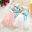 2016 Baby Girls Summer Dress Kids Flower Multi Coloured Spring Fashion Dress