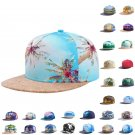 Tropical Scenery Hiphop Hat Snapback Baseball Cap Adjustable Beauty Print Hats