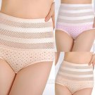 Women's Lace Solid High Abdomen Briefs Ladies Underwear Panties Knickers Fashion