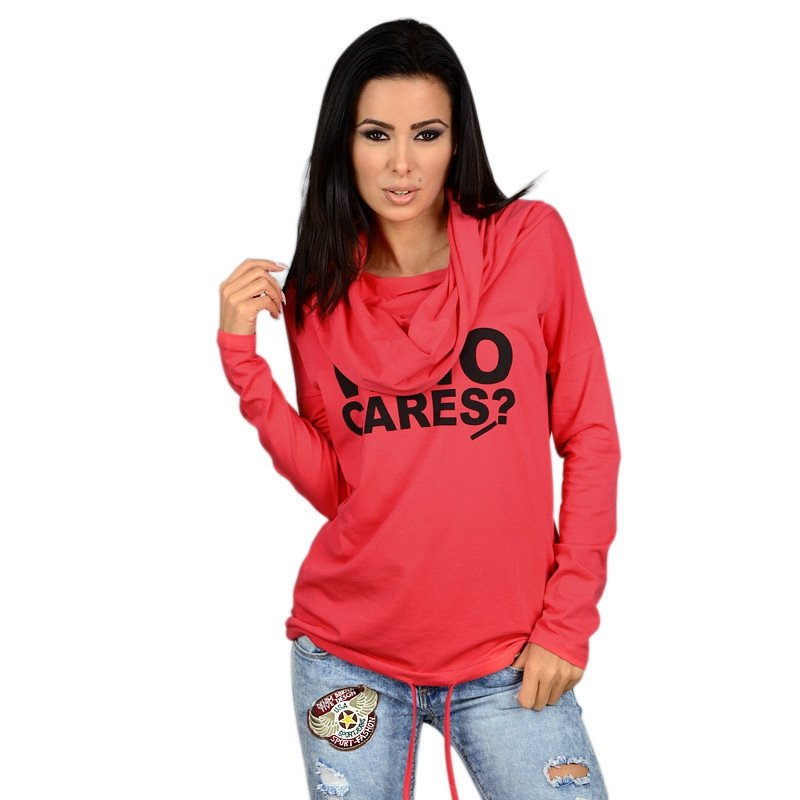 Women Long Sleeve Hoodie Sweatshirt Sweater Casual Hooded Coat Pullover 2016 US