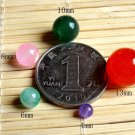 Wholesale Natural Genuine Stone Gemstone Round Spacer Loose Beads 4,6,8,10,13 S+