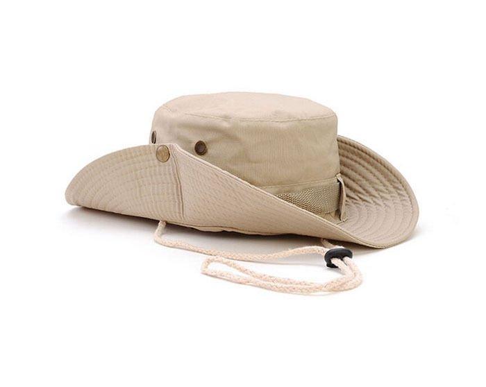 Camouflage  Hat 100% Cotton Military Hunting Safari Bucket Hat  Men