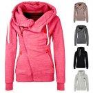 Fashion Women Hooded Slim Coat Jacket Winter Casual Warm Sportwear Outwear 2017