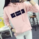 Autumn Women Long sleeve Hoodie Sweatshirt Jumper Sweater Pullover Tops Coat US