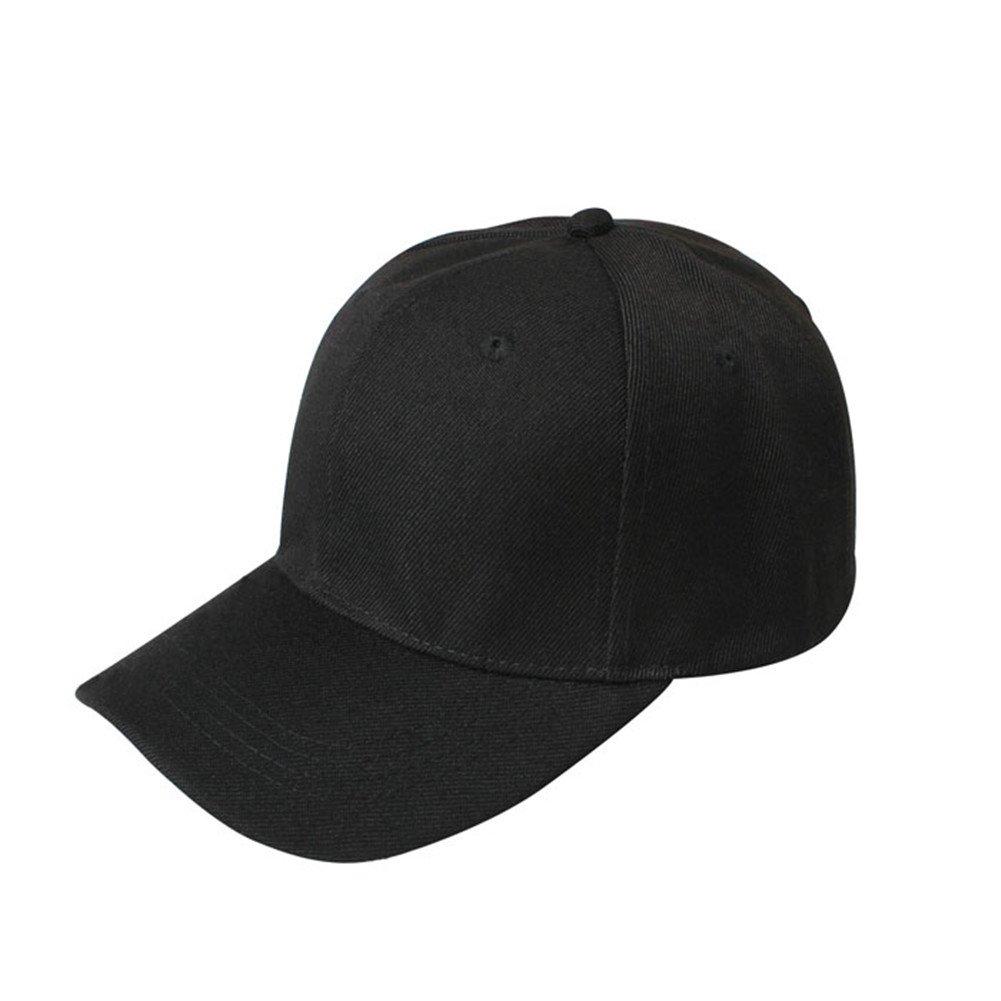 Brand New Unisex Baseball Cap BASEBALL CAP 100% COTTON HAT - ADJUSTABLE -  Strap