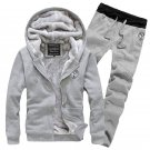 Men's Winter Sweatshirts Jackets Thick Velvet Hooded Zip Coat Hoodies New Soft