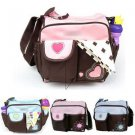 Function baby Diaper Tote Handbag messenger Shoulder bag suit for Mommy Cuddly