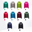 Lady Womens Outerwear Ultralight Hooded Down Parka Winter Coats Short Jacket USA