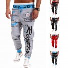 Men's Casual Sweatpants Jogger Dance Sportwear Baggy Harem Slacks Trousers Top