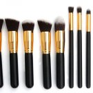 10Pc Professional Cosmetic Makeup Brush Brushes Sets Powder Eyeshadow Hot Cheap