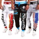 Men's Casual Sweatpants Jogger Dances Sportwear Baggy Harem Slacks Trouser USL