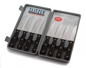 8pc German Jumbo Steak Knives