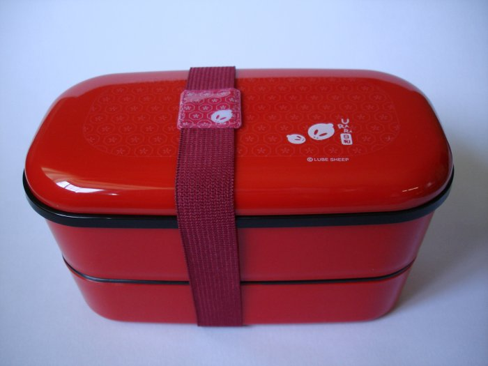 Red Rabbit Bento Box- no belt included