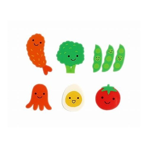 Adorable Happy Food Dividers for Bento
