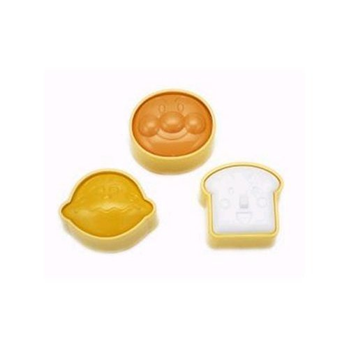 Set of 3 Anpanman Rice Molds