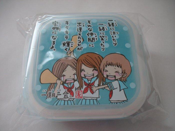 Japanese Anime Schoolgirl Bento Blue Sidecar
