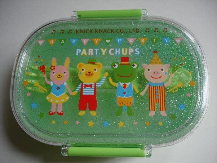 Party Chups One Tier Bento Box