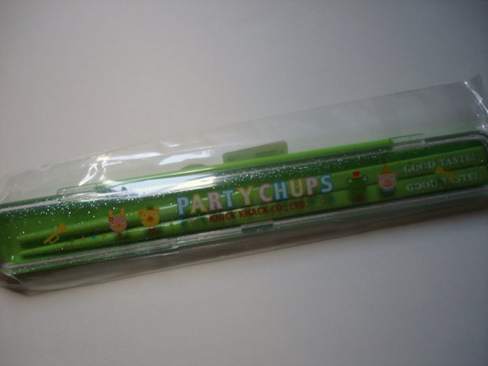Party Chups Chopsticks and Case