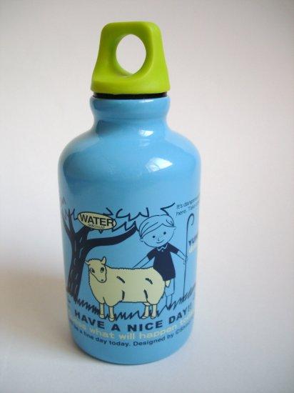 Shinzi Katoh Sheep design Aluminum water bottle