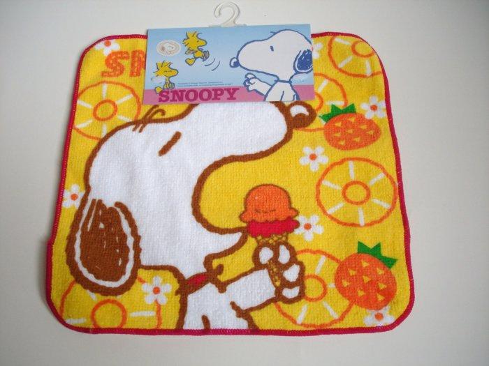 Snoopy Orange Oshibori