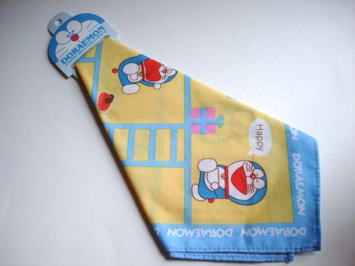 Doraemon Yellow and Blue Furoshiki