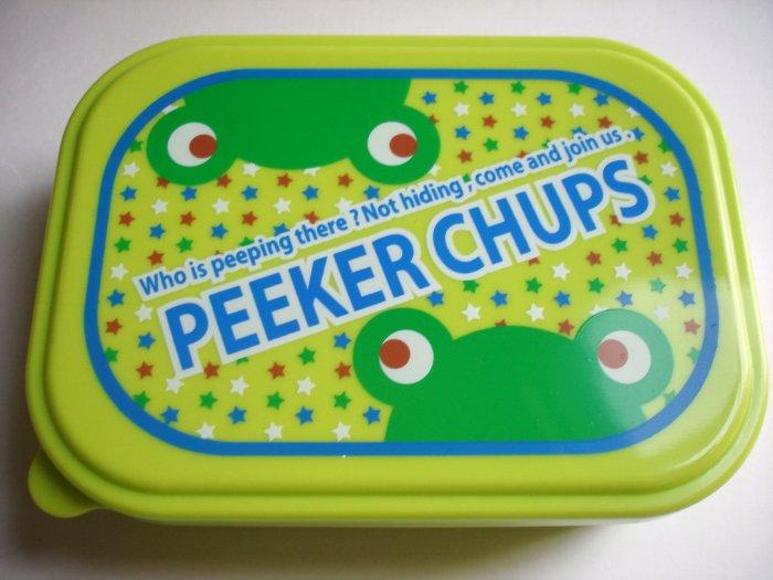 Peeker Chups One Tier Frog Bento Box