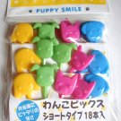 Puppy Smile Plastic Food Picks