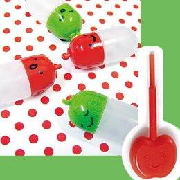 Shinzi Katoh designed Apple Sauce Bottles