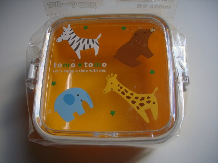 Tomo Tomo Animal Sidecar Bento Box