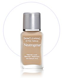 Neutrogena Skin Clearing Liquid Make Up Foundation CLASSIC PORCELAIN