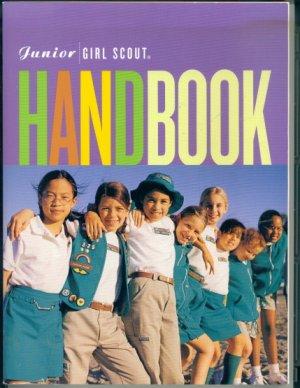 Junior Girl Scout Handbook (2001) book crafts