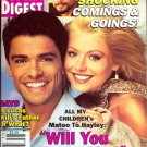 Soap Opera Digest Magazine 7 30 1996 Kelly Rippa Mark Consuelos