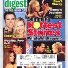 Soap Opera Digest magazine 6 18 2002 Tamara Braun Maurice Benard
