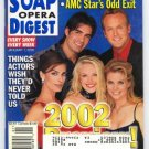 Soap Opera Digest   Magazine 1 1 2002 Kristian Alfonso G Gering