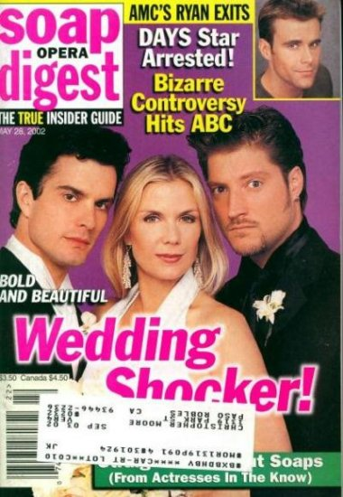 Soap Opera Digest 5 28 2002 Rick Hearst Sean Karan AMC
